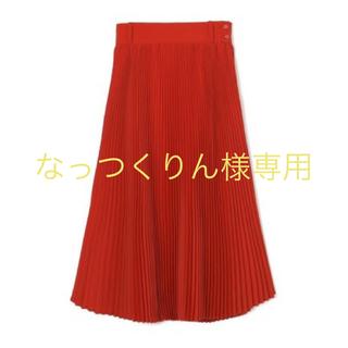 ハイク(HYKE)のHYKE ハイク プリーツ スカート(ひざ丈スカート)