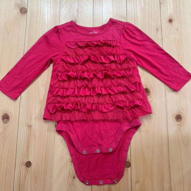 babyGAP(ベビーギャップ)のbabygap ロンパース 80cm 女の子 キッズ/ベビー/マタニティのベビー服(~85cm)(ロンパース)の商品写真