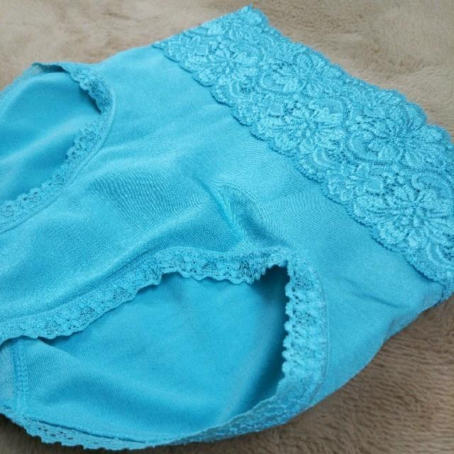 MARUKO(マルコ)のマルコ(青 緑)ブラジャー&ショーツセット レディースの下着/アンダーウェア(ブラ&ショーツセット)の商品写真