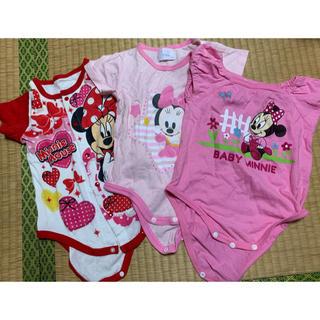 Disney - ミニー ロンパース 80