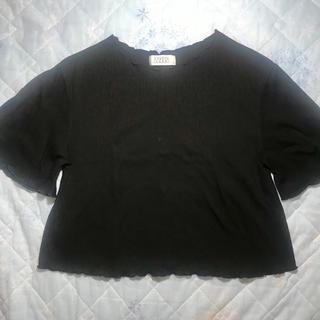 LOWRYS FARM - LOWRYS FARM 黒フリTシャツ