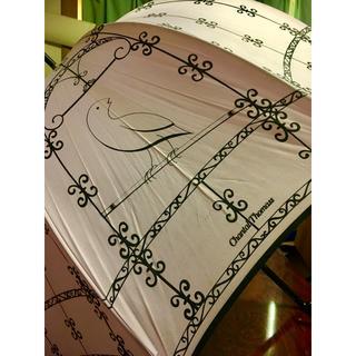 シャンタルトーマス(Chantal Thomass)のシャンタルトーマス  雨傘 ラベンダー 鳥籠(傘)