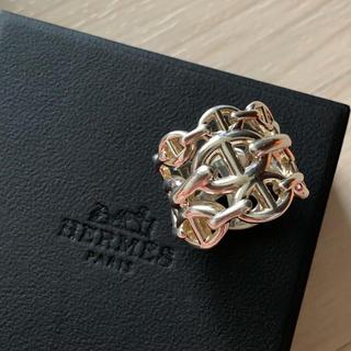 Hermes - 美品♡ エルメス HERMES シェーヌダンクル GM リング
