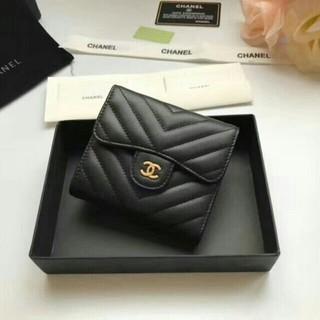 CHANEL - シャネル折り財布レディースミニ財布