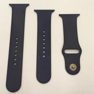 Apple Watch - Apple Watch 42,44mm用 ミッドナイトブルー アップルウォッチ