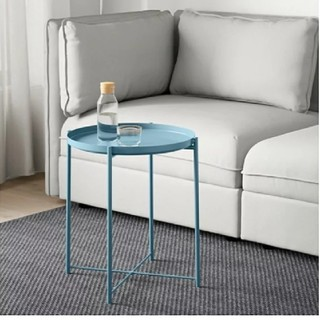 IKEA - IKEA*トレイ テーブル ブルー