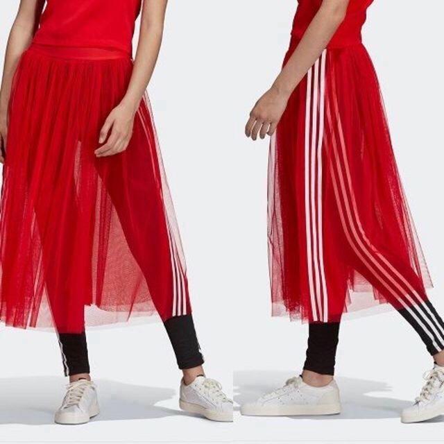 adidas(アディダス)の即日発送!Mサイズ アディダス W SKIRT TULLE チュールスカート レディースのスカート(ロングスカート)の商品写真