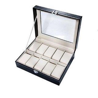 【新品未使用】腕時計 収納ケース 収納ボックス 10本用 オシャレ ディスプレイ