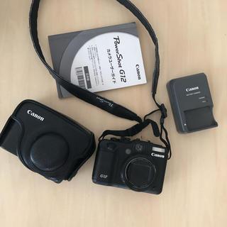 Canon - キャノン パワーショットG12 専用ケース付き