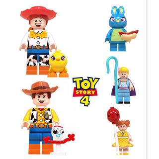 トイストーリー4 【新品】7体セット LEGOブロック レゴ互換 ミニフィギア