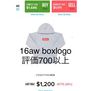 Supreme - Supreme 16AW Box Logo Hooded Sweatshirt
