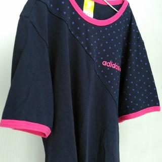 アディダス(adidas)のadidas NEO LABEL ドット切り替え T シャツ(Tシャツ/カットソー(半袖/袖なし))