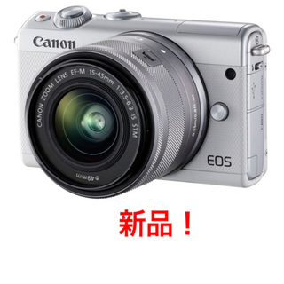 Canon - 新品 EOS M100 EF-M15-45 IS STM レンズキット