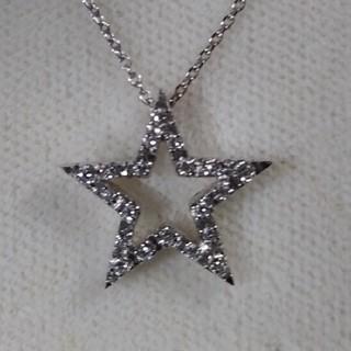 STAR JEWELRY - 専用になります。🤗★星ネックレスフルダイヤ♦️0.14
