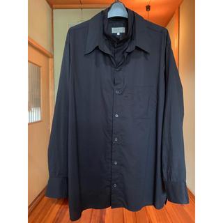 Yohji Yamamoto - Yohji Yamamoto pour homme レイヤードカラーシャツ
