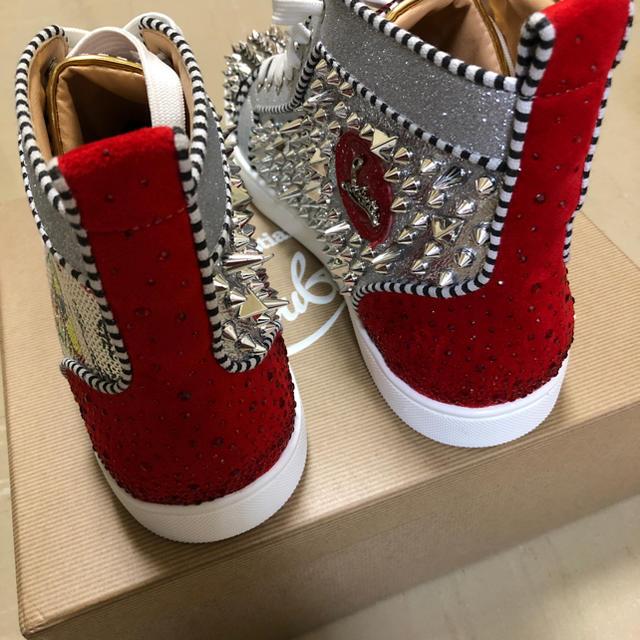 Christian Louboutin(クリスチャンルブタン)のルブタン ハイカットスニーカー メンズの靴/シューズ(スニーカー)の商品写真