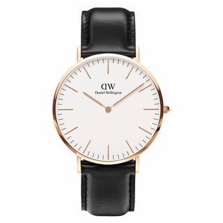 Daniel Wellington - 【40㎜】ダニエル ウェリントン 腕時計DW00100007〈3年保証付〉