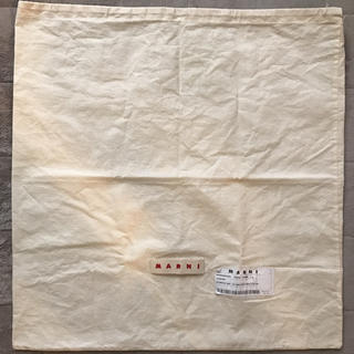 マルニ(Marni)のmarni*保存袋*新品(ショップ袋)