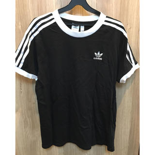adidas - アディダス スリーストライプTシャツ