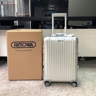 RIMOWA - リモワ RIMOWAスーツケース TSAロックオリジナル 32L シルバー