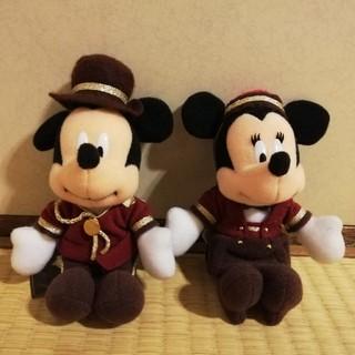 Disney - [ディズニー]ミラコスタ◆ぬいぐるみバッジ◆ミッキー&ミニー