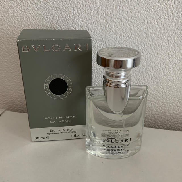 online store 59645 5c368 BVLGARI プールオム エクストレーム 香水 30ml | フリマアプリ ラクマ