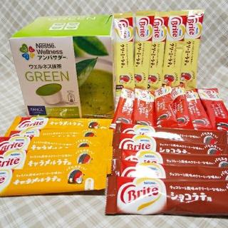 Nestle - ネスレ ドルチェグストカプセル ウェルネス抹茶 GREEN ブライト 21本