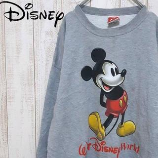 Disney - 【01-224】ミッキー 裏起毛スウェット 海外直輸入 USA製