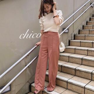 who's who Chico - ポンチスラックスパンツ❤︎最安値