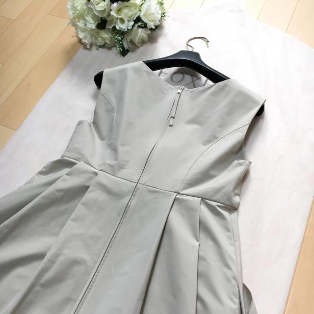 FOXEY(フォクシー)の【美品】FOXEY フォクシー 掲載 ストレッチ リボン ドレス ワンピース レディースのワンピース(ひざ丈ワンピース)の商品写真