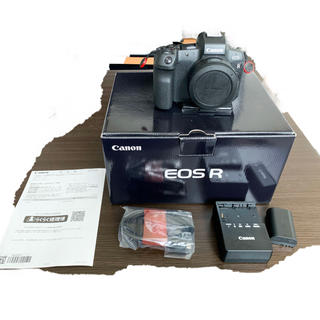 Canon - Canon ミラーレス EOS R 本体+アダプターセット
