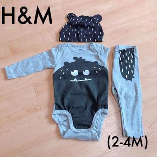 エイチアンドエム(H&M)のH&M☻ベビー3点セット(ロンパース)