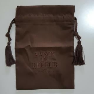 メゾンドリーファー(Maison de Reefur)のメゾンドリーファー 巾着 ポーチ ブラウン(ポーチ)