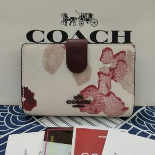 COACH - COACH 二つ折りミニ財布新品未使用 F39172