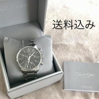 Calvin Klein - 国内正規品Calvin Kleinカルバン クライン シティクロノ 腕時計