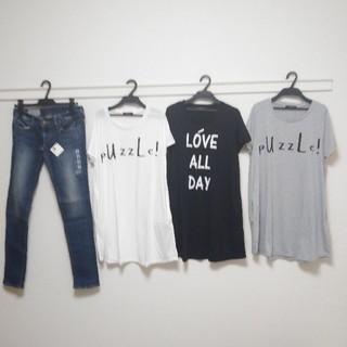 スライ(SLY)のトップス パンツ 4点セット まとめ売り フリーサイズ(Tシャツ(半袖/袖なし))
