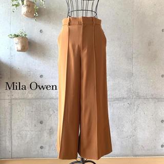 Mila Owen - 【美品】 Mila Owen ワイドパンツ ガウチョパンツ 1 Mサイズ