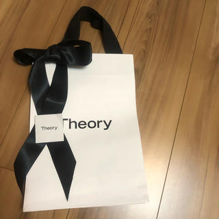 セオリー(theory)の❤送料無料❤Theory ショップ袋 リボン付き(ショップ袋)