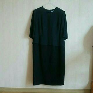 大きいサイズ 15号  ブラックスーツ 礼服 喪服