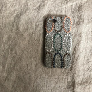 ハンドメイド ミナペルホネン iPhone8ケース
