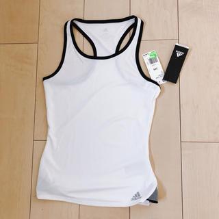 アディダス(adidas)のaddidasタンクトップ[未使用・タグ付き](ウェア)