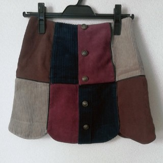 Lily Brown - Lily Brown パイピング台形スカート