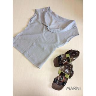マルニ(Marni)のマルニ MARNI ブラウス 半袖 トップス カットソー ドゥーズィエムクラス (シャツ/ブラウス(半袖/袖なし))