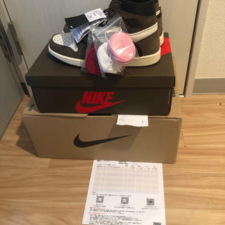 NIKE - JORDAN1 HIGH OG TS SP travis scott