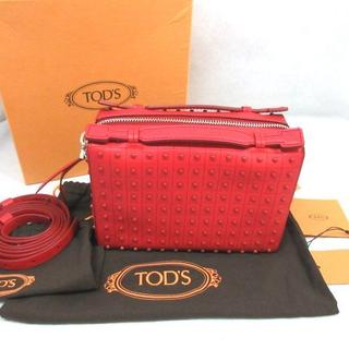 TOD'S - TOD'S  トッズ ♡ ゴンミーニ スタッズ 2WAYバッグ