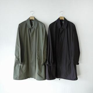 コモリ(COMOLI)のAURALEE オーラリー  finx silk chambray coat(ステンカラーコート)