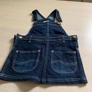 バディーリー(Buddy Lee)のサロペットスカート 95cm(ワンピース)