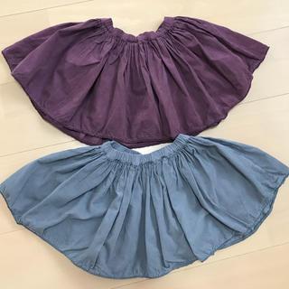 ボンポワン(Bonpoint)のBONTON ボントン コーデュロイスカート2枚セット 4歳(スカート)