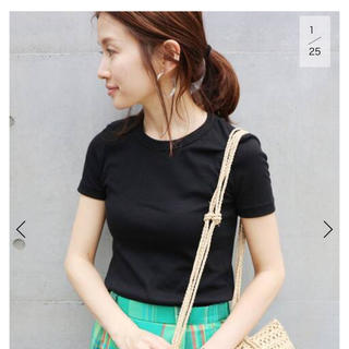IENA - IENA PETIT BATEAU クルーネック半袖Tシャツ