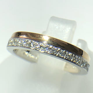 NINA RICCI - ニナリッチ NINA RICCI ダイヤモンド リング k18yg pt900